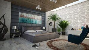 Żyrandol do sypialni – wnętrze z klimatem