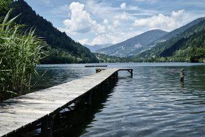 Wakacje nad jeziorem.