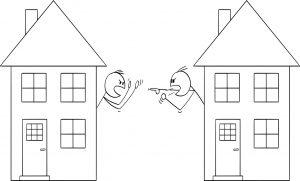 Spór z sąsiadem - co robić?